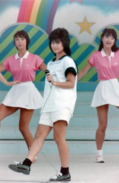 1984年夏 堀ちえみ 神宮絵画館前広場(フリーバル'84)