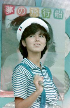 1984年5月 武田久美子 池袋西武デパート屋上