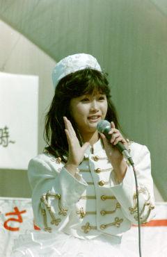 1985年4月 本田美奈子 大宮WE屋上