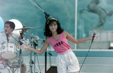 1984年夏 早見優 神宮絵画館前広場(フリーバル'84)